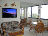 Kihei Surfside Resort unit 504 TV, Love Seat and Dinette views